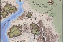 Carte / Map / Tout les dessins représentant des mondes.