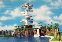 Futurist / Utopia, transhumanism, concept art