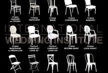 [GLOSSAIRES] / Glossaires et vocabulaire mariage : chaise, vases, ...