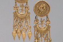 Ancient Treasures / Art, jewelry, artifacts from swords to sceptors.
