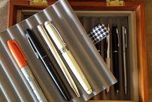 pens, ink & paper