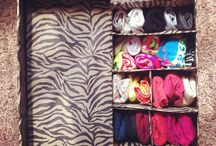 Socks Box / Turn your idle shoe box into storing your socks, knick-knacks and essentials.