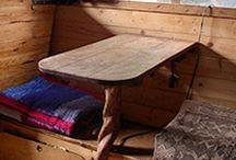 Gypsy Wagon caravan interior design