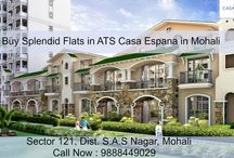Buy Splendid Flats in ATS Casa Espana in Mohali / ATS #CasaEspana offers gorgeous flats and #apartments in mohali . Call Now : 9888449029