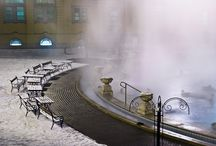 Szechenyi bath winter / www.budapestdaytrips.com