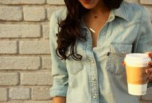 Denim love / Fashion , woman , denim , style