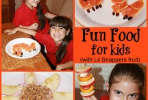 Fun Foods 4 KIDS / Get creative & make snacking fun.