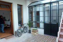 Puertas interior vidrio repartido