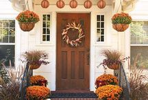 Falling in love with Fall decor / Fall Home Decorations  / by Kala Jones