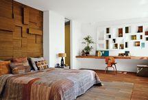 expresso bedroom set up