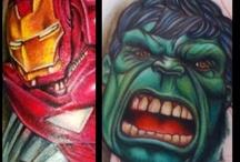 Comic book art / Marvel dc