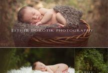Buiten Pasgeborene Fotografie