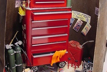 1/12 scale tools chest