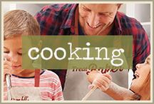 made with love: cooking with your kids / Food lies at the heart of many good memories, whether it's freshly baked cookies on the counter or frosted cupcakes on a birthday!  Invite the little people in your life to learn this time-tested recipe for showing love by including them in baking whenever you have an occasion.