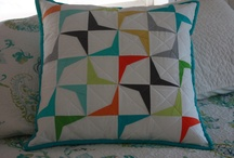 Pillows & Cushions / by Modern Quilts Unlimited