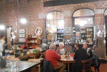 """Workshop """"Magie op je bord"""" / Het Florette team nam enkele weken geleden deel aan de culinaire workshop """"Magie op je bord"""". Bekijk hier de foto's van het klaarmekan van een gastronomisch menu tijdens deze gezonde en duurzame avond!"""