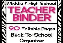 Middle/High School Teacher Stuff