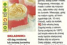 Przepisy kulinarne - desery - kremy