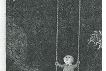 Edward Gorey Drawings
