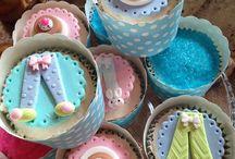 Cupcakes - Festa do Pijama - Sleepover / Cupcakes  Sleepover   Festa do Pijama  Slumberparty