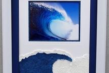 Ocean Frame Displays / Framed water and tropical displays.