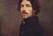 """Eugène Delacroix(1798-1863)_french romanticism / Romanticism, Rubens inspiration In the words of Baudelaire, """"Delacroix was passionately in love with passion, but coldly determined to express passion as clearly as possible."""