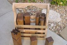 Kubb / Inspiration and ideas for the backyard game kubb