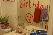 Декор ко дню рождения