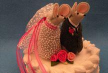 wedding cake toppers / by Joyce McPherson