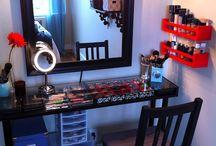 DIY makeup table ideas