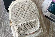 backpack knit & crochet