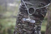 Handmade jewelry stones & quartz