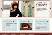 Our Lovely Website / Our website designed by Top Left Design