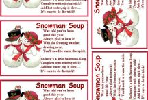 Snowman Soup ideas / Snowman soup is great for last minute presents, teacher presents, stocking fillers and just for fun at Christmas.  This board features lots of ideas to help you make your own.