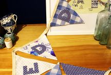 Bunting - TwentyThree 14 - Bespoke a gifts and crafts / I craft therefore I am! This is a board of my makes! Visit https://www.facebook.com/twentythree14/ for more hand made gits and crafts
