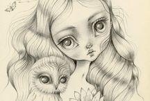 Sketching / by Susanne Mackenzie