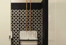 Carreaux de ciment dans la maison / La décoration intérieur des carreaux de ciment dans la maison