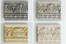 CHALK PAINT COLOUR RECIPES FOR CARVED/MOULDED/ORNATE SURFACES