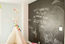 Children's bedroom inspo / Inspiration for children's bedrooms and/or playrooms