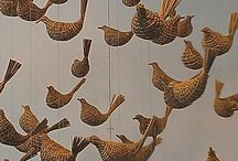 Weaving in 3 D / Baskets, sculptures and other amazing woven objects