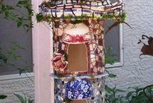 Vogelhuis mosaik