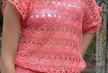 lindas blusinhas de crochê
