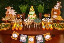 Decoração festa infantil tema Safari