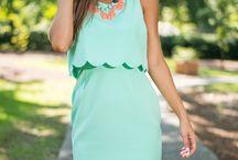 Dress: Pop-over
