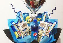 snack bouquet ideas