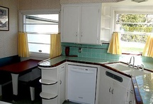 Cool old kitchens