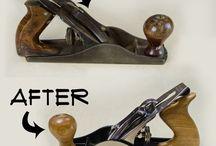 Restoring old handtools