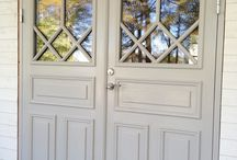 Lillieskölds dörrar / Ytterdörrar, innerdörrar, pardörrar etc.