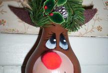 Christmas Crafts / by Spirit Child Hippie Witch