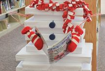 Library Displays / Creativity abounds in the library. Check out these ideas for library displays.
